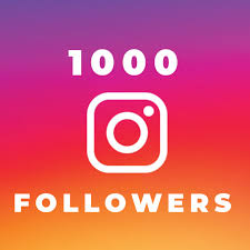 1000 Instagram Follower 3.99$  for limit time