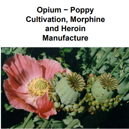 Morphine and Heroin Manufacture How To [SUBMIT OFFER]