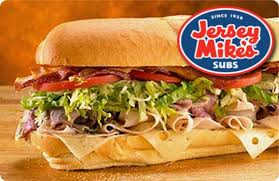 Jersey Mike's 1000-1500 points