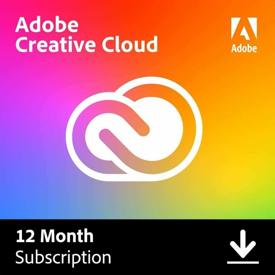 Adobe Creative Cloud 2020 All Apps One Year Subscribe