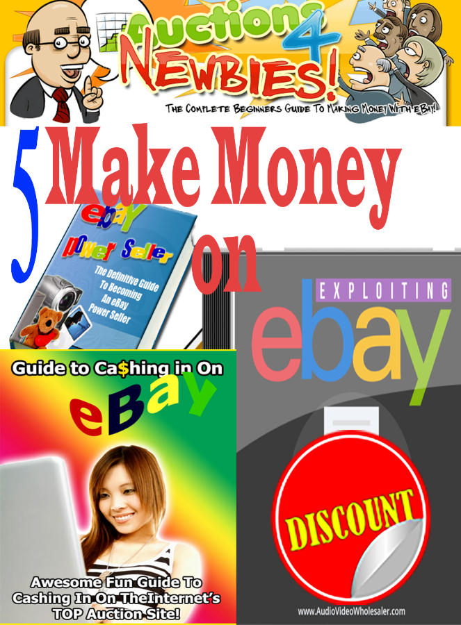 Make Money on eBay 5 EBOOK PDF HIGH QUALITY + BONUS