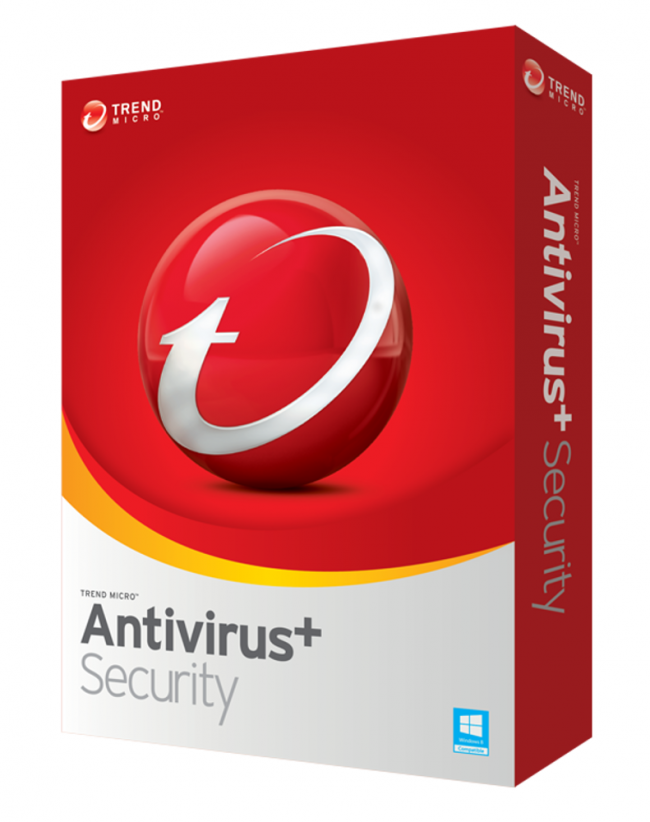 Trend Micro Antivirus Plus Security 1 Year 1 Device
