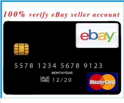 VCC Virtual Credit Card for Verify Ebay Seller UK