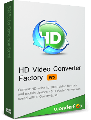 WonderFox HD Video Converter Factory Pro 1 PC LifeTime