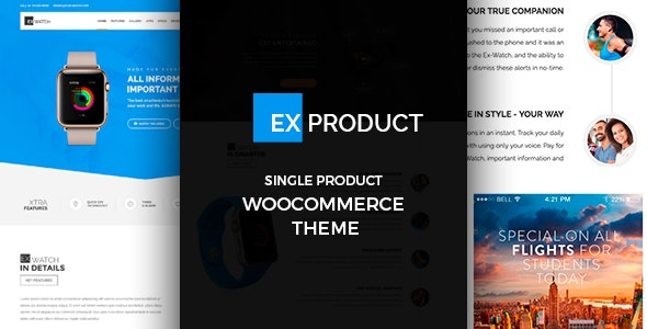 ExProduct – Single Product Theme – GPL