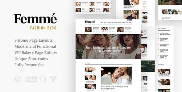 Femme – An Online Magazine & Fashion Blog Them...
