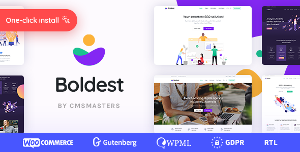 Boldest – Consulting and Marketing Agency Theme  �...