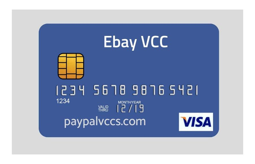 VCC( Virtual Creidt Card ) For eBay Only For sale