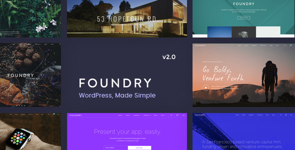 Foundry – Multipurpose, Multi-Concept WP Theme –...