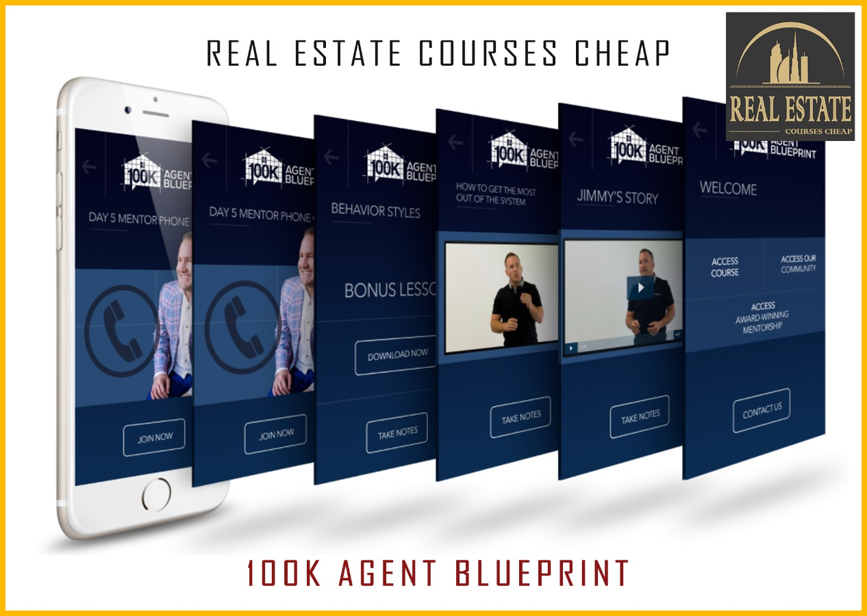 100K Agent Blueprint - Premium Real Estate Cheap