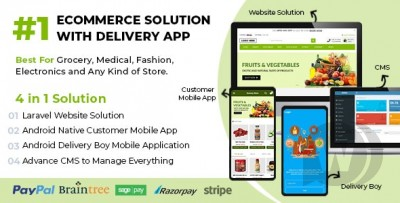 Ecommerce Solution with Delivery App