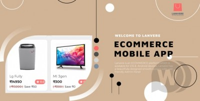 iPhone e-commerce mobile app