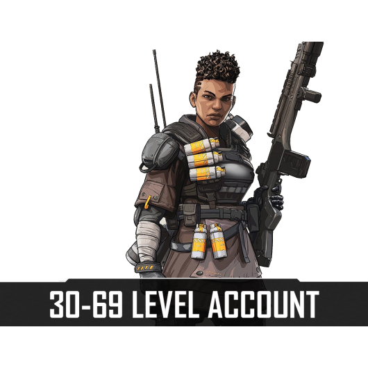 Apex Legends 30-69 Level Account