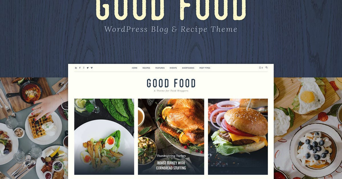 Good Food - Recipe Magazine & Cooking Blogging T...