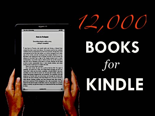 12,000+ Kindle Book Pack (INSTANT)
