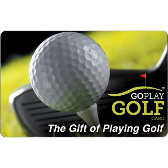 $100 Go Play Golf Gift Card