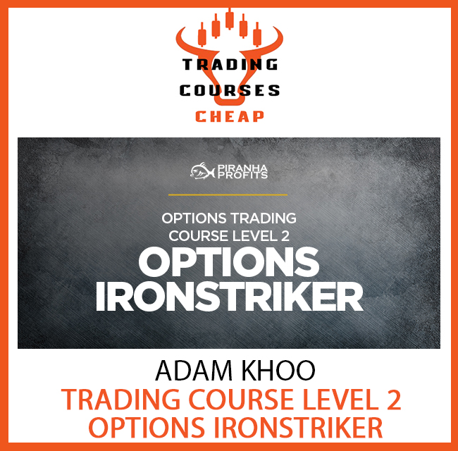 ADAM KHOO - TRADING COURSE LEVEL 2(OPTIONS IRONSTRIKER)