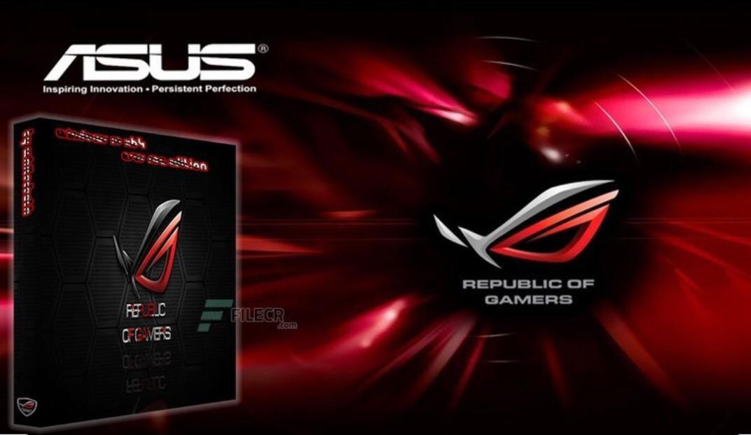 WINDOWS 10  ROG EDITION 2020  MODIFIED SPECIAL EDITION
