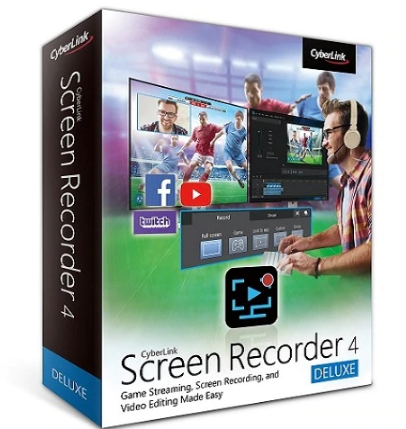 CyberLink Screen Recorder Deluxe Overview