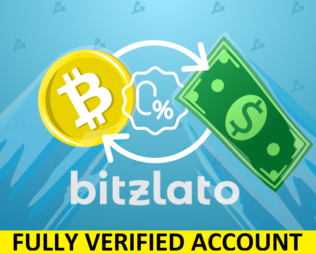 Fully Verified Bitzlato Account (RU) – $55