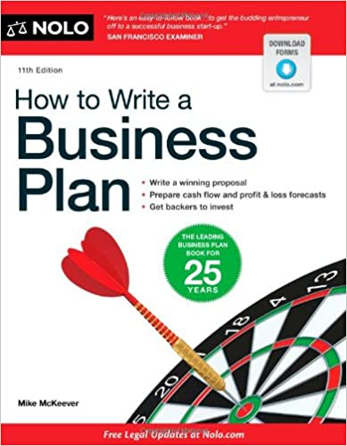 How to Write a Business Plan , 10th Edition