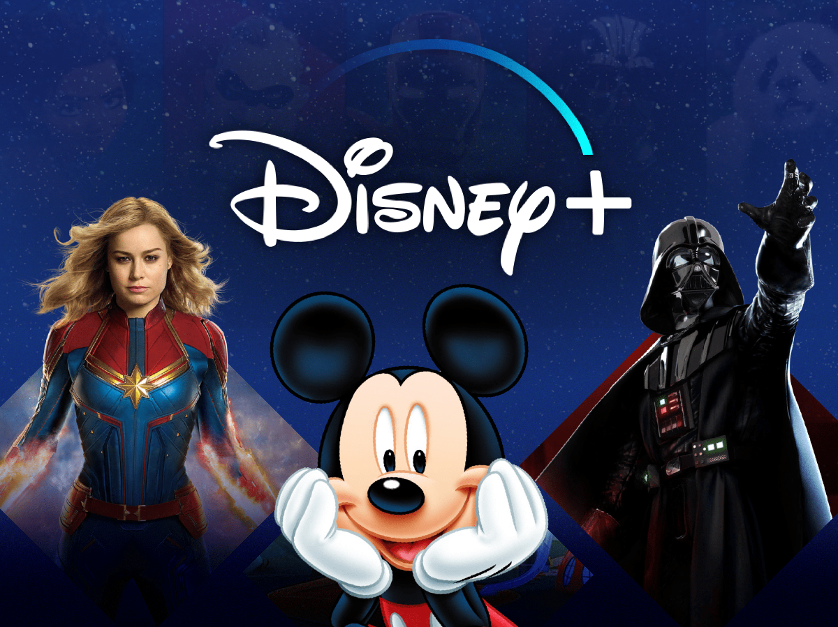 Disney+ with NordVPN Disney&NordVPN