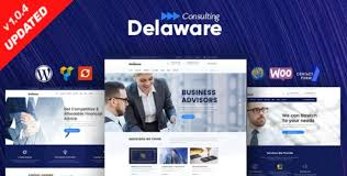 Delaware - Consulting and Finance WordPress Theme �...