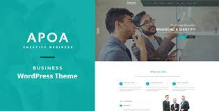 Apoa – Business WordPress Theme – GPL Licence