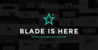 Blade – Responsive Multi-Functional WP Theme  – GPL