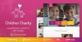 Children Charity – Nonprofit & NGO WordPress T...