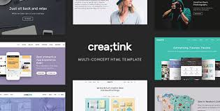 Creatink – MultiConcept Responsive WordPress Theme