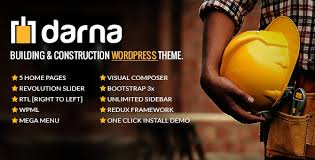 Darna – Building & Construction WordPress Them...