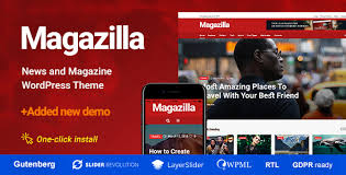 Magazilla – News & Magazine Theme – GPL