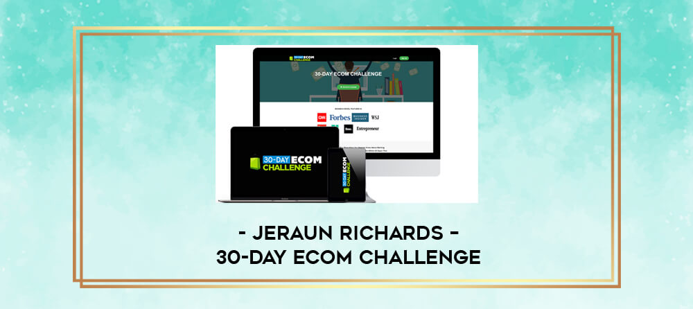 Jeraun Richards – 30-Day Ecom Challenge