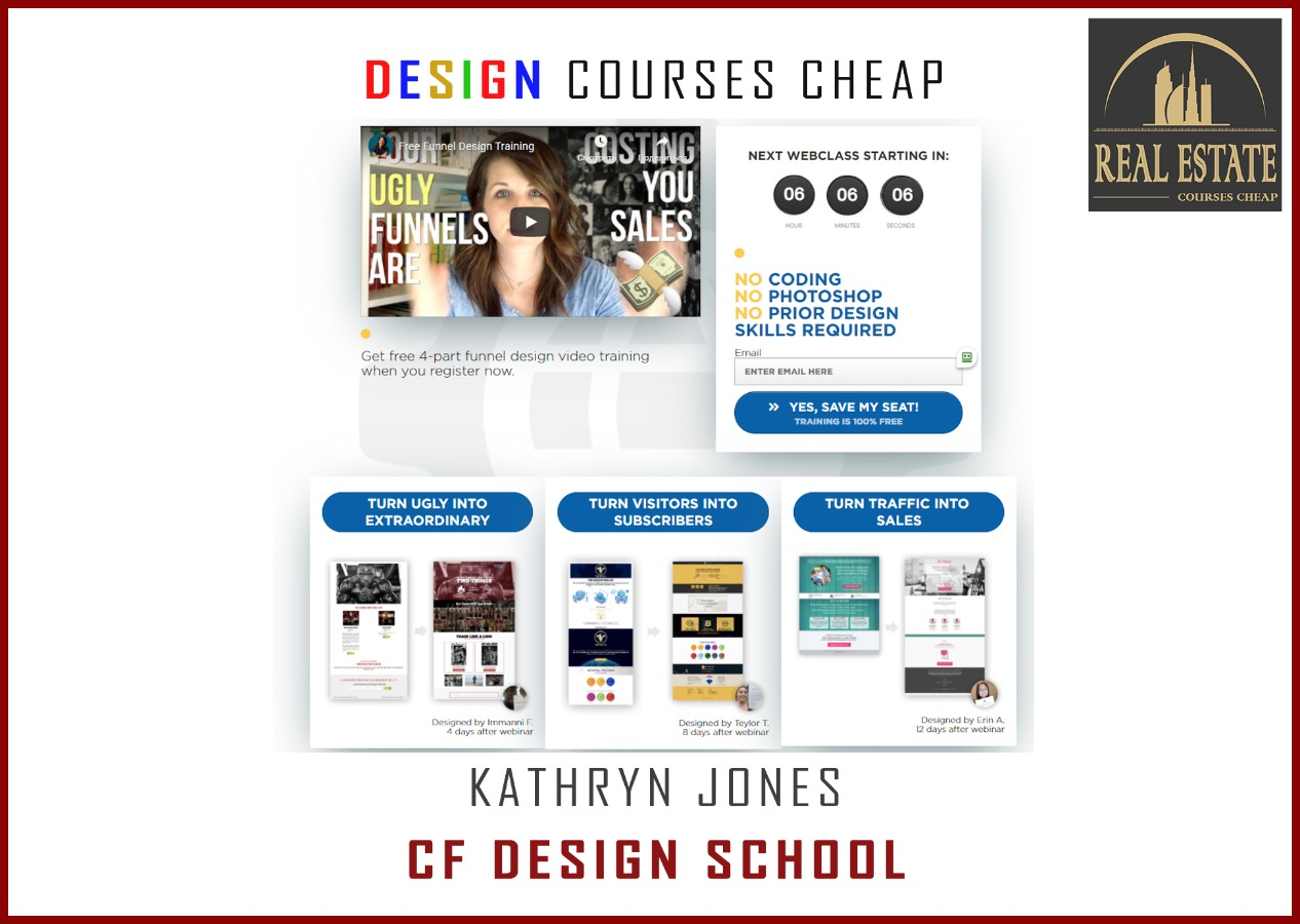 Kathryn Jones -  CF Design School