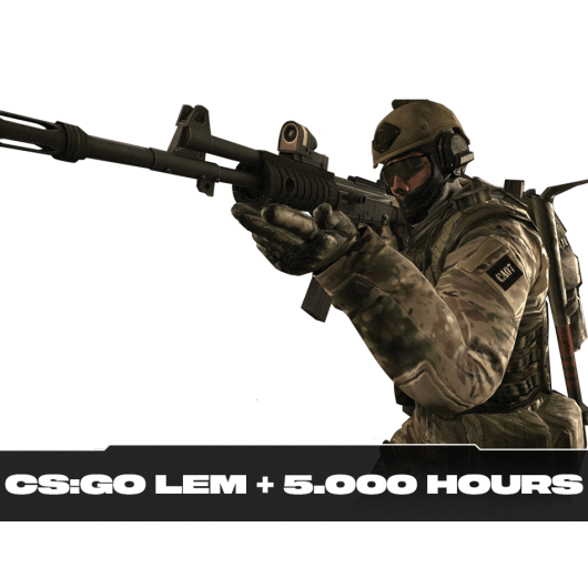 CS:GO Account Legendary Eagle Master + 5.000h