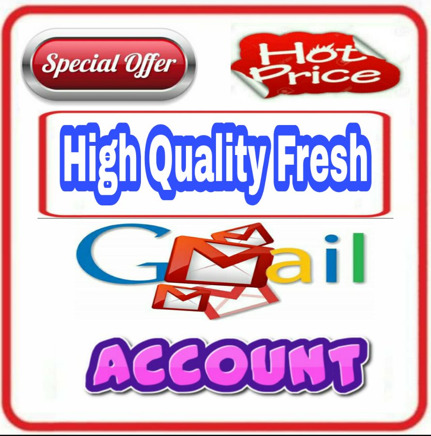 10 High Quality Premium Fresh Gmail Accounts