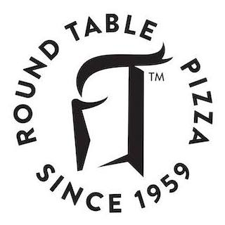 Round Table Pizza (With Pin) $25