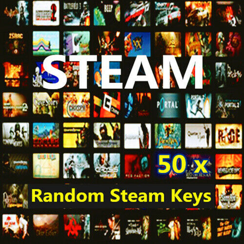 50 Steam Random Keys 50 Steam Game Keys PC Games