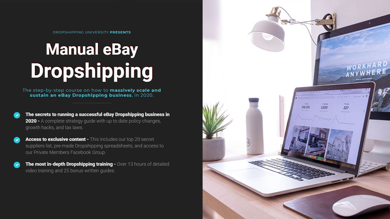 Manual eBay Dropshipping 2020 | $497 [EXCLUSIVE]