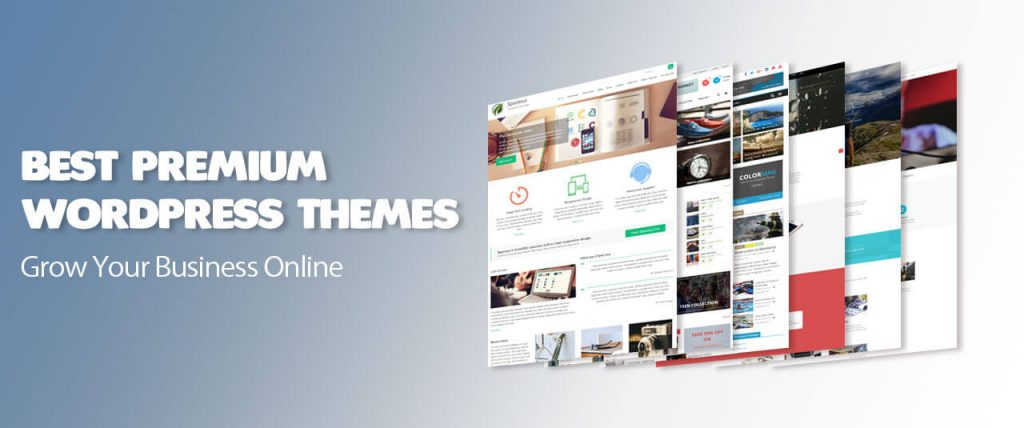 themes (36) of Premium WordPress themes 2020