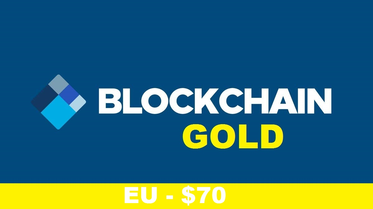 Blockchain Gold Account (EU) – $70
