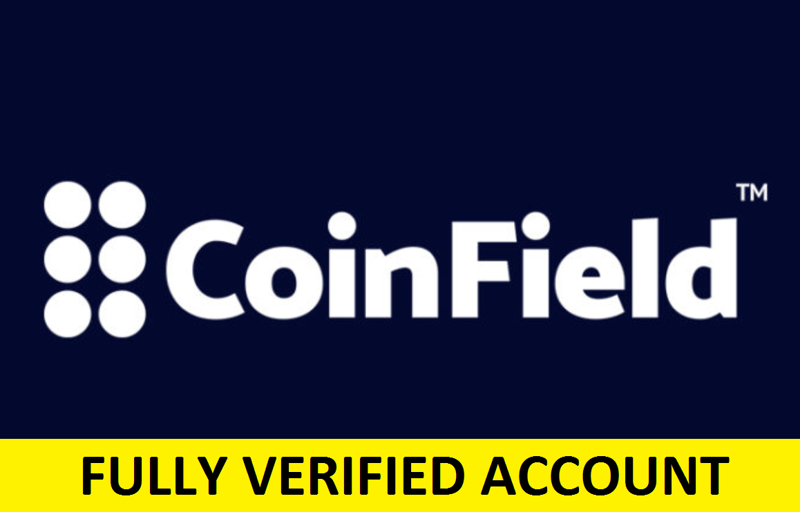 Fully Verified Coinfield Account (RU) – $45