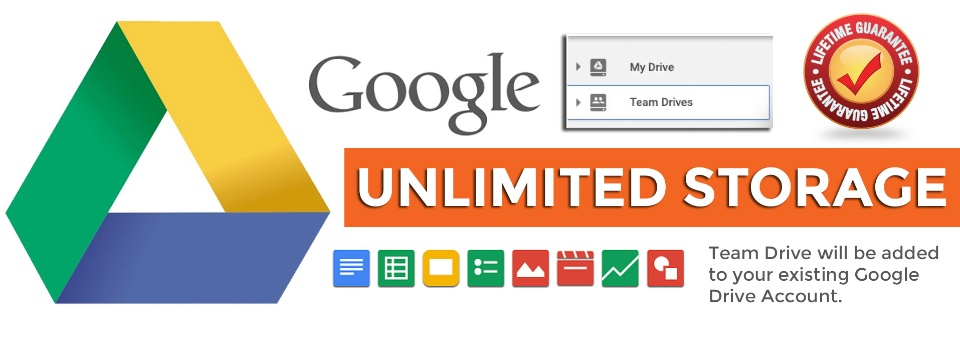 Google Drive unlimited with your email