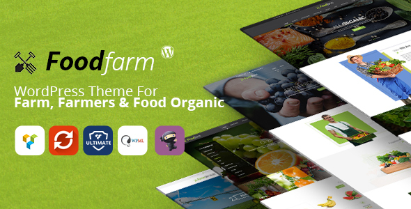 FoodFarm – Farm Services and Organic Food Store Theme