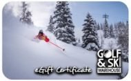 Golfskiwarehouse.com 100$  E-Gift Cards(Email Delivery)