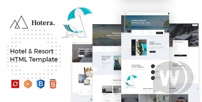 Hotel and Resort HTML Template
