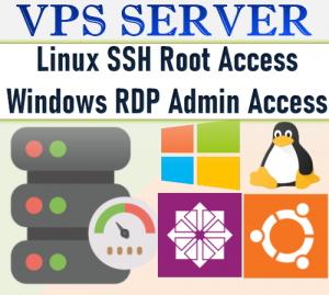 windows vps or linux vps 16GB RAM 6 month + 1 month