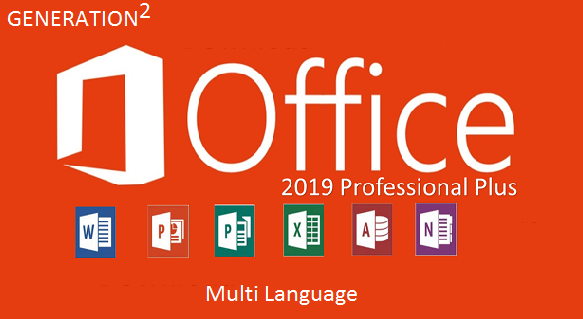 Microsoft Office 2019 ProPlus Retail April 2020
