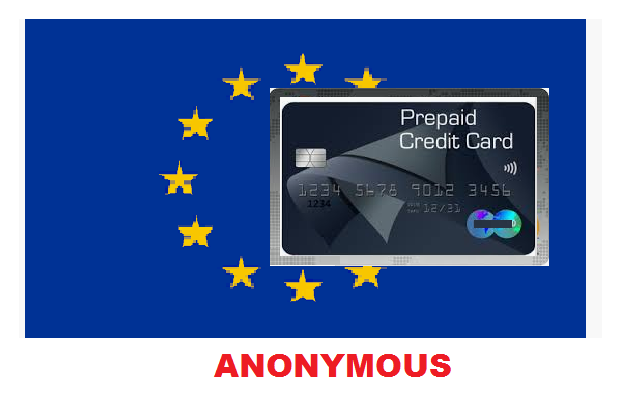 Prepaid Virtual Card with Iban (Anonymous)